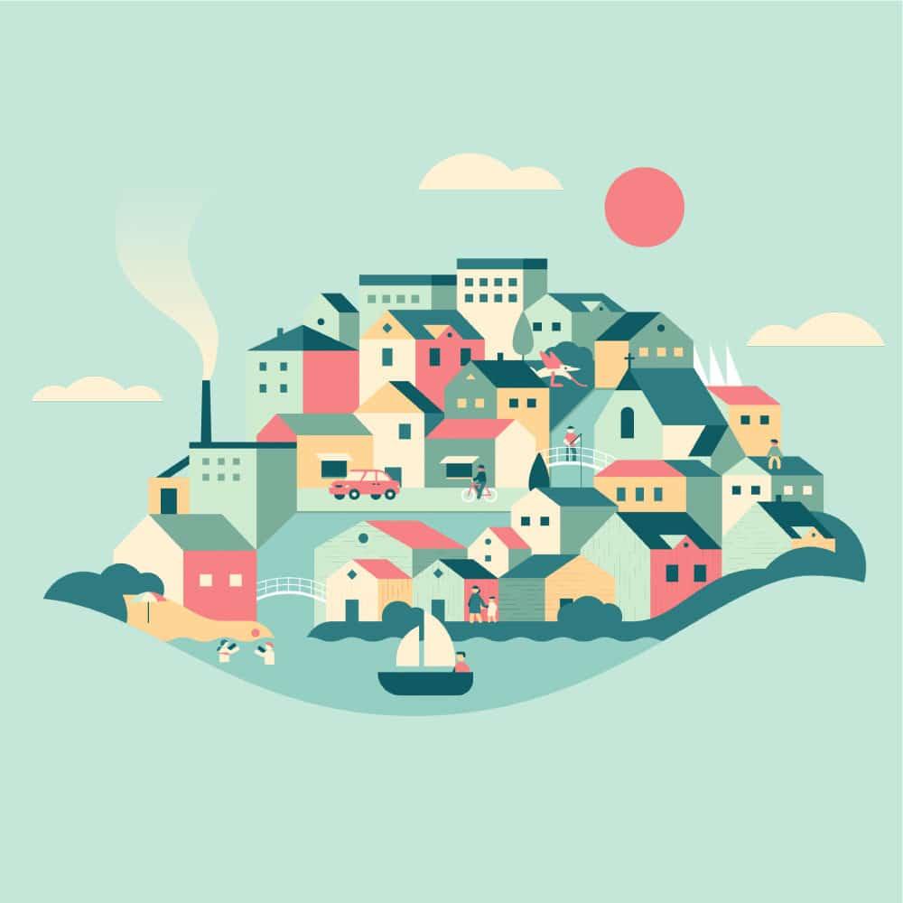 Projekt En riktig liten stad